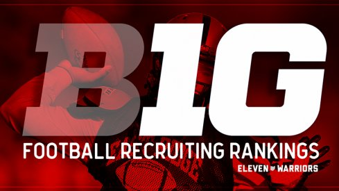 The Buckeyes finished 2016 at the top of the conference recruiting rankings.