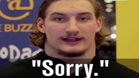 Joey Bosa is sorry for murdering Michigan's dreams.
