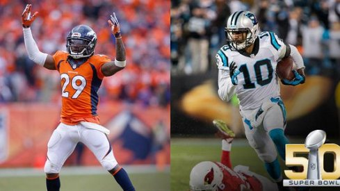 Former roommates Bradley Roby and Corey Brown are set to battle for football's biggest crown Sunday.