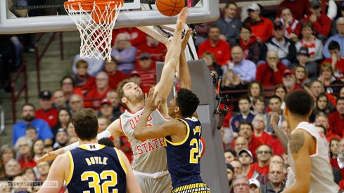 Ohio State topped Michigan Tuesday.