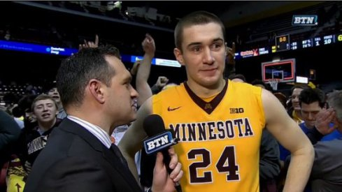 Joey King helped Minnesota get its first league win.