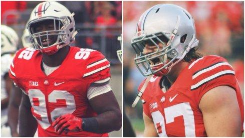 Adolphus Washington and Joey Bosa are NFL bound.