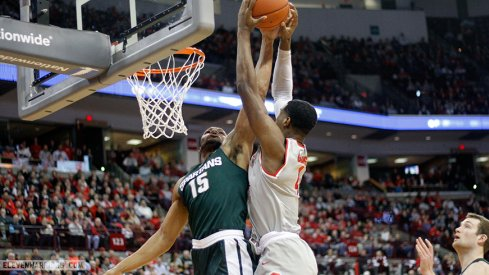 Ohio State fell to Michigan State Tuesday, 81-62.