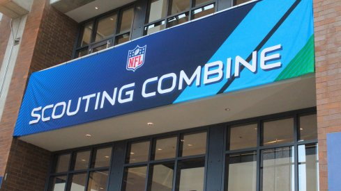 Photos from Wednesday at the NFL Combine.