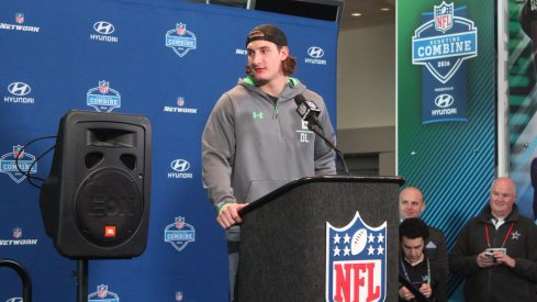 Video interviews from day three at the NFL Combine.