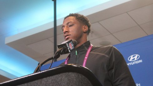 Mike Thomas at the NFL Scouting Combine