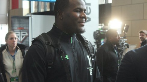 Cardale Jones at the NFL Scouting Combine