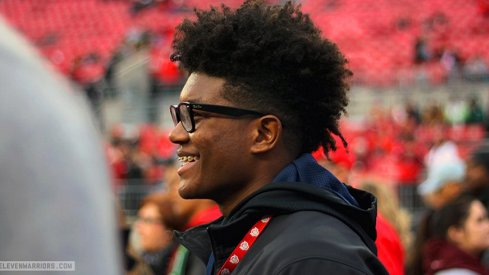 Antjuan Simmons during an Ohio State visit in the fall.