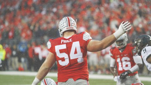 Billy Price is one of two returning starters on Ohio State's offensive line.