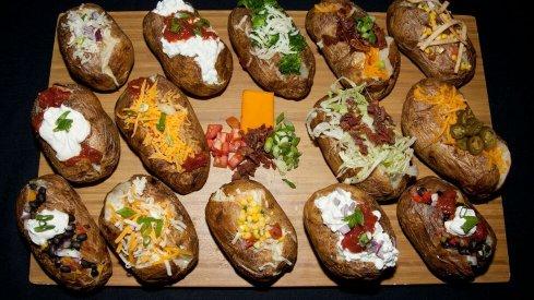 Big Ten baked potatoes