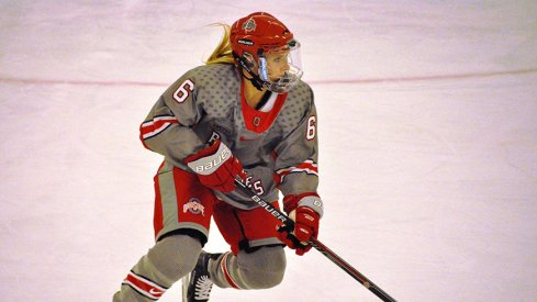 Ohio State defenseman Lauren Boyle was named to the 2016 WCHA All-Rookie Team.