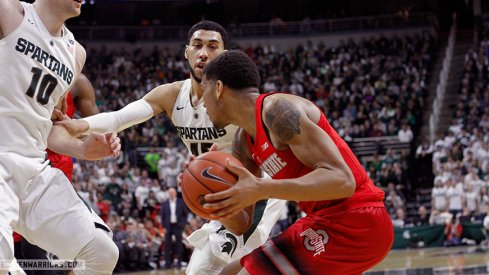 Michigan State shot its way past Ohio State Saturday.