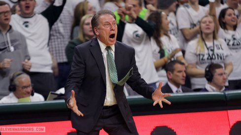 Because why not? Tom Izzo mad about something.
