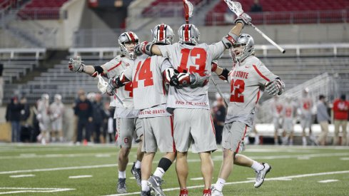 Ohio State's men's lacrosse team downs No. 19 Marquette.