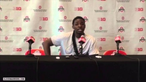 Jae'Sean Tate addressed the media Wednesday for the first time since his injury