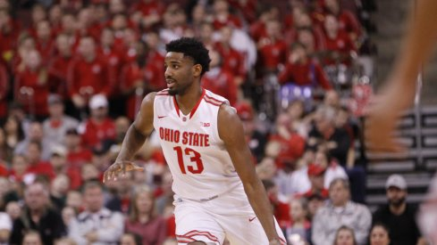 JaQuan Lyle will play a big role for Ohio State in the Big Ten tournament.