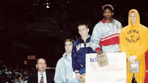 One of Kevin Randleman's many triumphs in wrestling.