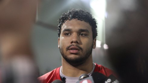 Marcus Baugh will start at tight end for Ohio State in 2016.