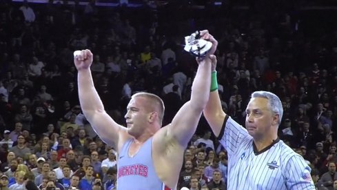 Kurt Snyder's win in the heavyweight division highlighted a great run for Ohio State.