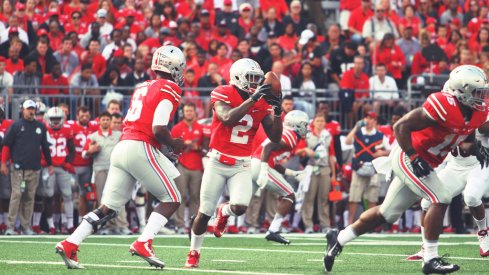 Urban Meyer said he sees a host of players carrying the ball in 2016 for Ohio State.