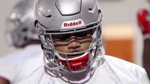 Inside Marshon Lattimore's process to feel the best he ever has at Ohio State this spring.