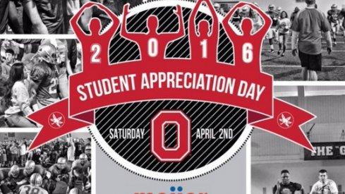 Student Appreciation Day: April 2nd 2016