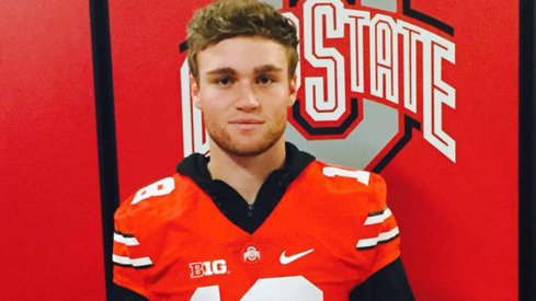 The country's top-ranked quarterback during an Ohio State visit in March of 2016.