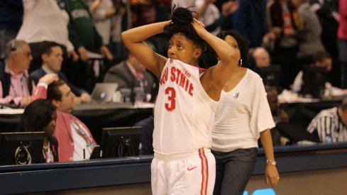 Kelsey Mitchell and the Buckeyes couldn't get it done, falling in the Sweet 16.