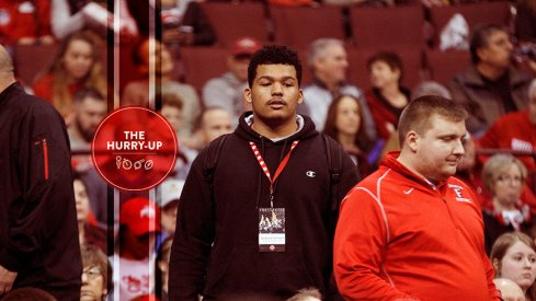 Fairfield, Ohio's Jackson Carman at Ohio State in January
