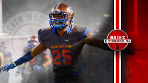 Bishop Gorman (Las Vegas) wideout Tyjon Lindsey
