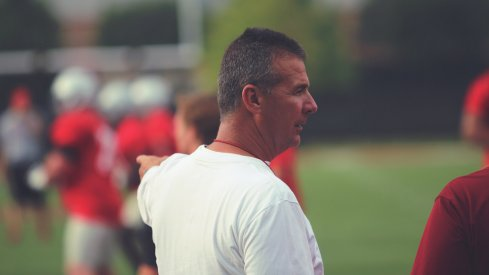 Urban Meyer will be at a satellite camp in June.