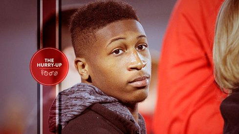 Amir Riep at Ohio State on Saturday morning.