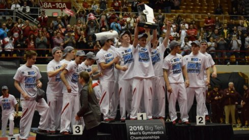 Men''s gym takes home B1G title.