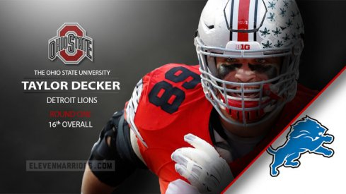 Taylor Decker to detroit