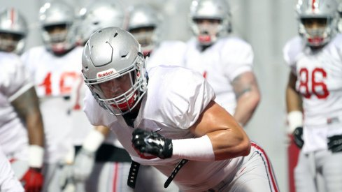 All eyes are on Sam Hubbard this spring at Ohio State's defense.