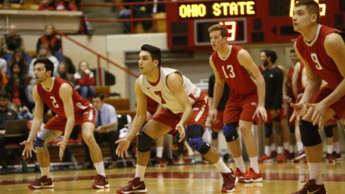 Ohio State's men's volleyball team earned its 25th MIVA regular season championship.