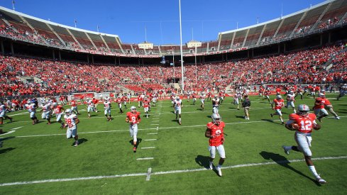 Ohio State set its rosters for its annual spring game.