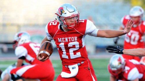 Mentor, Ohio 2018 quarterback Tadas Tatarunas