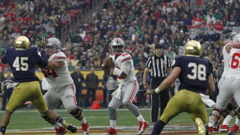 Urban Meyer and Tim Beck believe Ohio State and J.T. Barrett are getting better in the passing game.