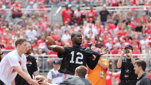 Cardale Jones is set to partake in the spring game festivities Saturday.