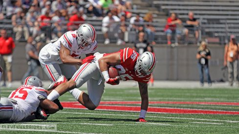 Observations from the scarlet team in the spring game Saturday.