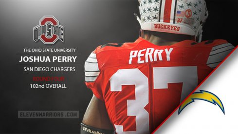 Joshua Perry drafted by San Diego.