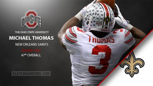 Michael Thomas drafted by New Orleans.