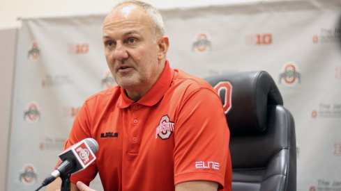Thad Matta is comfortable with the state of the Ohio State program.
