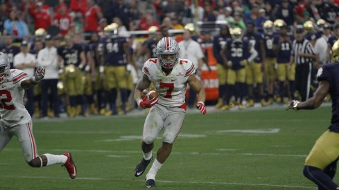 Looking at the best professional fits for Ohio State wide receiver Jalin Marshall.
