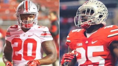 Urban Meyer is looking for Mike Weber or Bri'onte Dunn to put a stranglehold on the starting tailback slot.