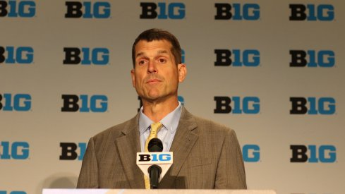 Jim Harbaugh is excited about the NCAA lifting the satellite camp ban.