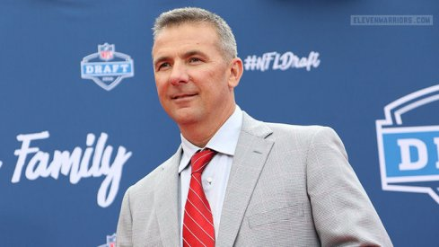 Urban Meyer saw five players drafted in the first round on Thursday night.