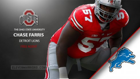 Chase Farris to Detroit as undrafted free agent.