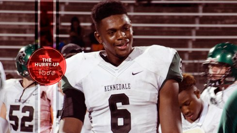 Baron Browning is heading to his first Ohio State visit